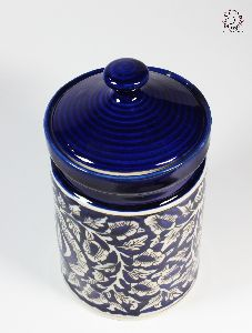 Ceramic Printed Jar