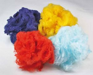 Colored Polyester Fiber