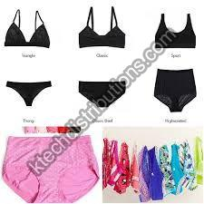 ladies Inner Wears-Bra -panty