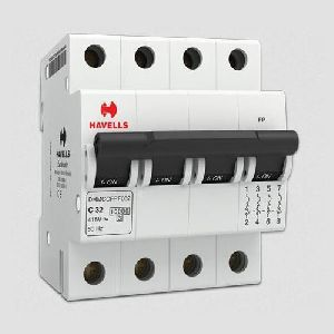 Four Pole MCB Switch