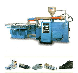 Fully Automatic Rotary System Sports Shoes Making Machine