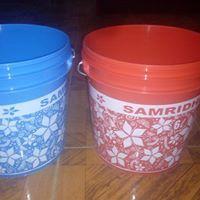 Printed Plastic Bucket