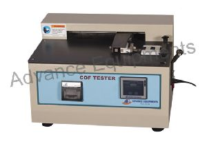 Static & Kinetic Coefficient Of Friction Tester Touch Screen Without Printer