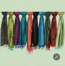 Art Silk Scarves