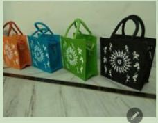 Assorted Jute Handbag