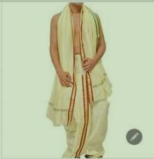 Silk Readymade Dhoti
