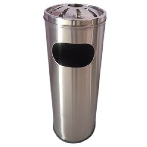 Stainless Steel Ash Deluxe Dustbin
