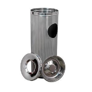 Stainless Steel Ash Waste Dustbin