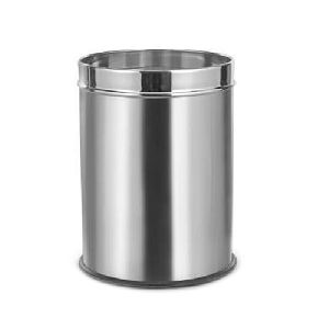 Stainless Steel Plain Dustbin
