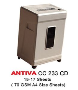 CC233CD Paper Shredder Machine