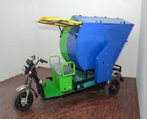 E Rickshaw Garbage Tipper