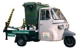 Mobile Auto Bin Lift
