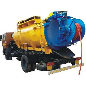 Truck Mounted Sewer Suction cum Jetting Machine