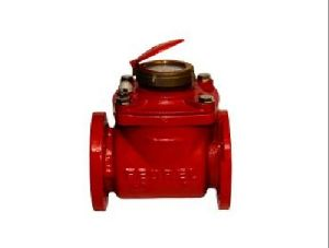Fedrel Woltman Type Hot Water Meter
