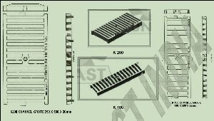 Channel Trench Gratings