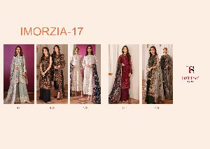 Deepsy Imorzia Vol-17 Georgette Embroidery
