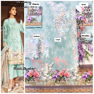 Luxury Lawn Embroidered Collection Block Buster Vol 2 By Cs