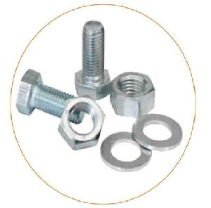 Hex Bolt Nut & Washer