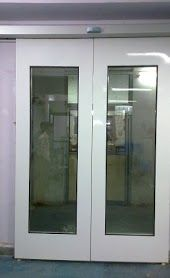 GI Flush Double Door