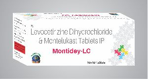Montelukast and Levocetirizine Tablets