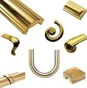 Brass Handrail Ends