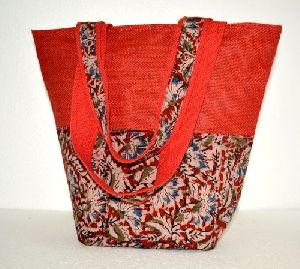 Fancy Jute Tote Bag