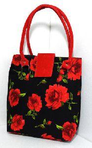 Floral Designer Handbag