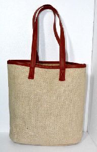 Jute Canvas Handbag