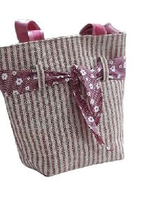 Jute Fancy Handbag