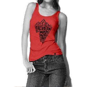 Ladies Designer Tank Top