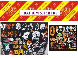 Radium Sticker