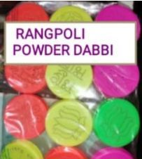 Rangoli Dabbi Powder