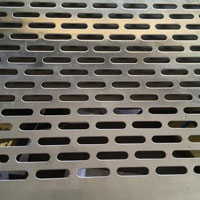 Oval Hole Perforated Sheet