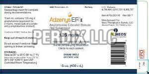 Adzenys ER 1.25mg/ml Oral Suspension