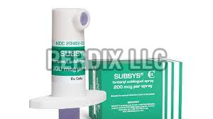 200mcg Subsys Spray Bottles