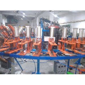 30 Station Automatic Opening & Closing Pu Sole Machine