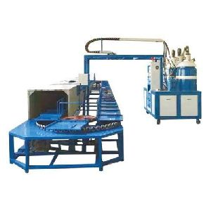 60 Station Conveyor Type Pu Sole Machine