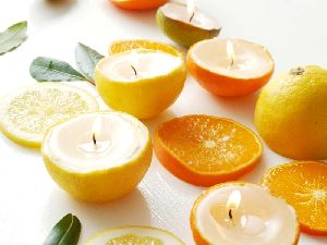 Citrus Scented Candle