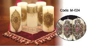 Henna Art Candles