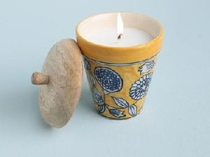 Mogra Scented Candle
