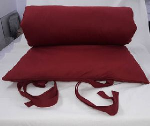 Maroon Meditation Zabuton Cushion