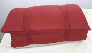 Red Meditation Zabuton Cushion