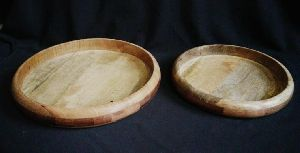 Natural Wooden Serving Tray