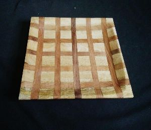 Wooden Square Serving Tray