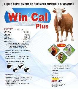 Win Cal  Plus (liquid Calcium) Animal Feed Supplement