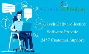 GTech Daily Collection Software Provide For 24 /7 Customer Support
