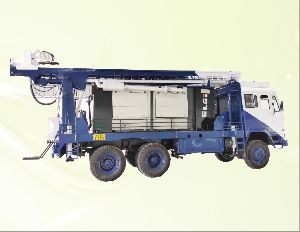 Refurbished Truck Mounted Dth Cum Rotary Drilling Rig