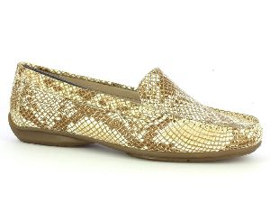 Ladies Bijou Slip On-MOC Shoes
