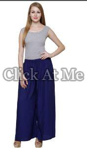Navy Blue Palazzo Pant