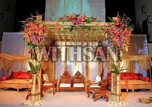 Bamboo Marriage Mandap